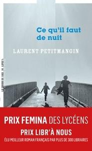 Laurent Petitmangin - Ce qu'il faut de nuit.