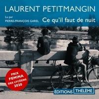 Laurent Petitmangin et Pierre-François Garel - Ce qu'il faut de nuit.
