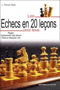 Feriasdhiver.fr Les échecs en 20 leçons pour tous Image