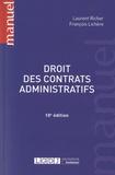 Laurent Richer et François Lichère - Droit des contrats administratifs.