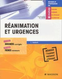 Réanimation et urgences - Laurent Sabbah pdf epub