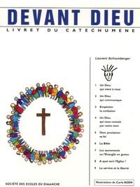 Laurent Schlumberger et Carla Koen - Devant Dieu - Livret du catéchumène.