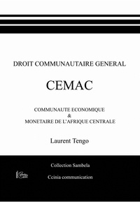 Laurent Tengo - Droit communautaire général CEMAC.