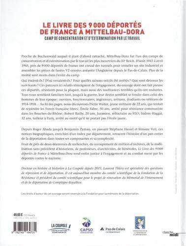 Le livre des 9000 deportés de France à Mittelbau-Dora
