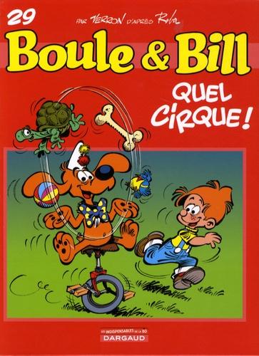 Boule & Bill Tome 29 Quel cirque !