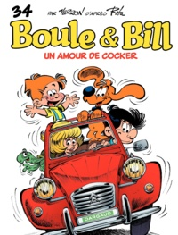 Laurent Verron et Jean Roba - Boule & Bill Tome 34 : Un amour de cocker.