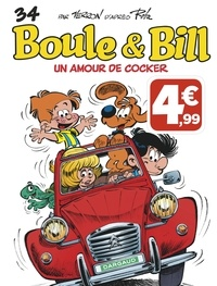 Laurent Verron - Boule & Bill Tome 34 : Un amour de cocker.