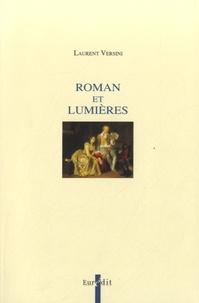 Laurent Versini - Roman et Lumières.