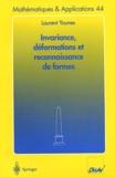 Laurent Younes - Invariance, déformations et reconnaissance de formes.