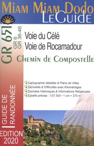 Chemin de Compostelle, Voie de Rocamadour & Voie du Célé  Edition 2020