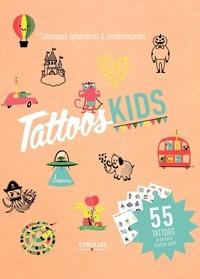 Lauriane Tiberghien - Tattoos kids - 100 tattoos à colorier.