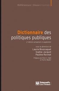 Laurie Boussaguet et Sophie Jacquot - Dictionnaire des politiques publiques.