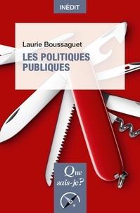 Laurie Boussaguet - Les politiques publiques.