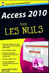 Galabria.be Access 2010 pour les nuls Image