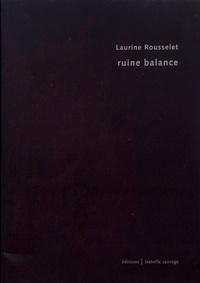 Laurine Rousselet - Ruine balance.