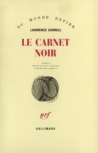 Lawrence Durrell - Carnet noir.