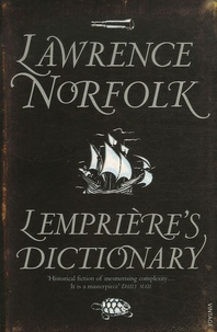 Lawrence Norfolk - Lempriere's Dictionary.