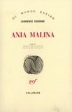 Lawrence Osborne - Ania Malina.