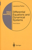 Lawrence Perko - Differential Equations and Dynamical Systems.