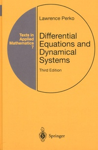 Differential Equations and Dynamical Systems - Lawrence Perko |