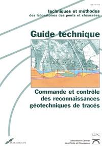 Commande et contrôle des reconnaissances géotechniques de tracés- Guide technique -  LCPC | Showmesound.org