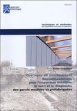 LCPC - Recommandations pour l'inspection détaillée, le suivi et le diagnostic des parois moulées et préfabriquées - Guide technique.