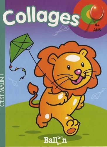 Le Ballon - Collages (lion) 4+ ans.