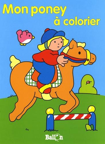 Le Ballon - Mon poney à colorier.