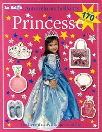 Le Ballon - Princesse - Autocollants brillants.