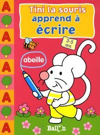 Le Ballon - Tini la souris apprend à écrire 3-5 ans.