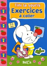 Le Ballon - Tini la souris Exercices à coller.