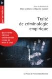 Le Blanc, Marc et Maurice Cuss - Traité de criminologie empirique (4e édition).