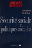 Le Bont et  Huteau - Sécurité sociale et politiques sociales.