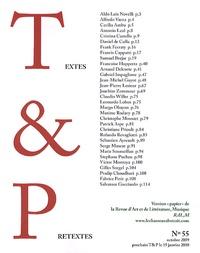 Patrick Cintas - Textes & Prétextes N° 55, Octobre 2009 : .