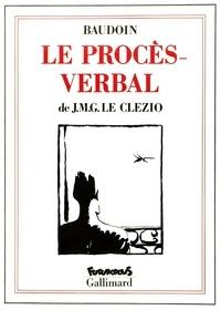 Le Clez et Edmond Baudoin - Le Procès-verbal.