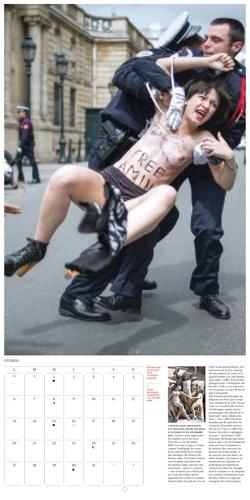 Calendrier Femen 2014