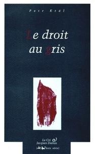 Petr Kral - In'hui H.S. : Le droit au gris.