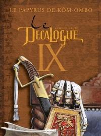 Frank Giroud - Le Décalogue - Tome 09 - Le Papyrus de Kôm-Ombo.