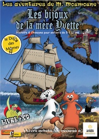 Le Duo des Mômes - Les bijoux de la mère Yvette - 5 ans à 10-11 ans. 1 CD audio