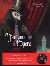 Christel Espié - Le fantôme de l'Opéra - livre CD.