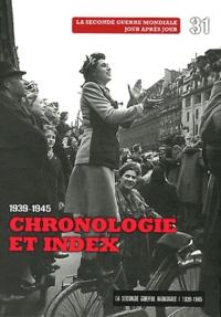 Le Figaro - La Seconde Guerre mondiale - Tome 31, Chronologie et index 1939-1945. 1 DVD