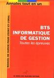 Le Génie des glaciers - BTS Informatique de Gestion.