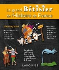 Le grand bêtisier de l'Histoire de France - 9782035893550 - 14,99 €