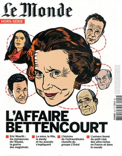 Sylvie Kauffmann - Le Monde Hors-série : L'affaire Bettencourt.