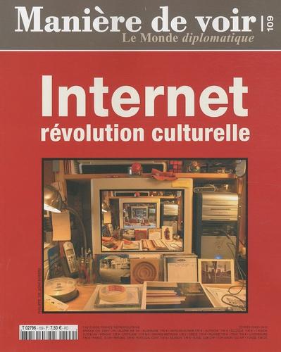Le Monde - Manière de voir N° 109 : Internet - Révolution culturelle.