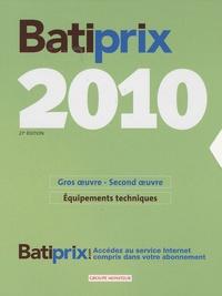 Corridashivernales.be Batiprix 2010 - Coffret en 2 volumes : Gros oeuvre-second oeuvre ; Equipements Techniques Image