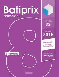 Le Moniteur éditions - Batiprix 2016 - Volume 8, Electricité.