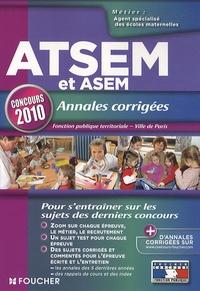 Le Page et Jocelyne Guérin - ATSEM et ASEM annales corrigées, Fonction publique territoriale et Ville de Paris - Concours de catégorie C d'agent spécialisé des écoles maternelles: ATSEM, ASEM..