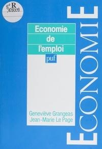 Le Page et Geneviève Grangeas - Économie de l'emploi.
