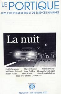 Jean-Yves Trépos - Le Portique N° 9, 1e Semestre 20 : La nuit.